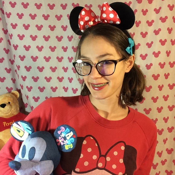Accessories - Adorable Minnie Mouse Baby Ears Light Weight